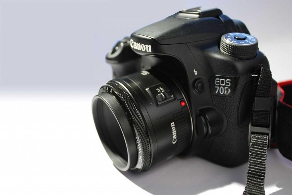 50mm 1.8 II montado en 70D
