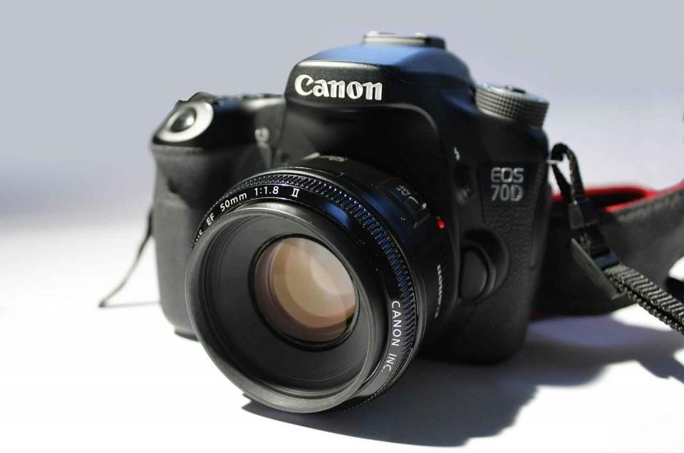 Objetivo 50mm 1.8