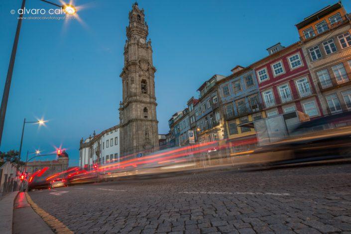 Torre de los Clérigos en Oporto (Portugal)