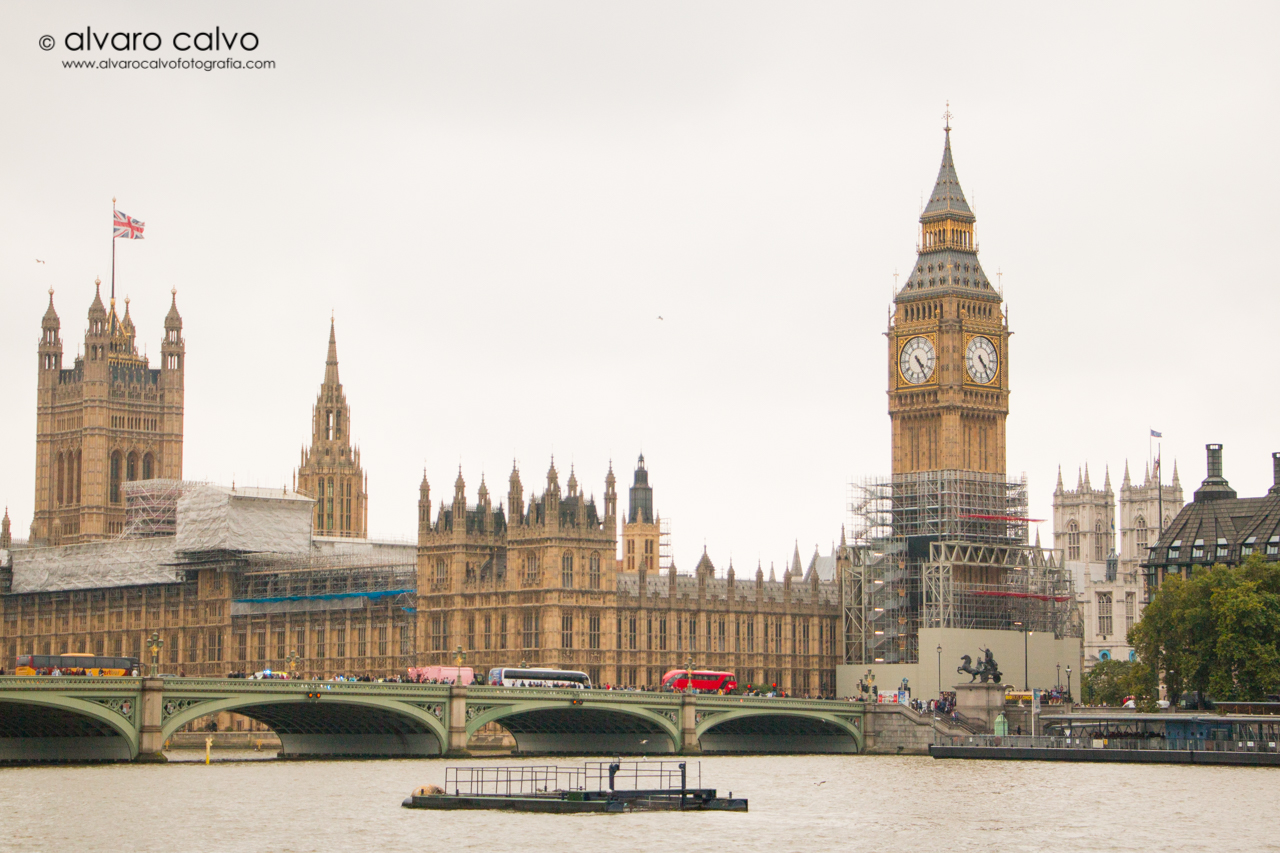 Wesminster y Big Ben - London