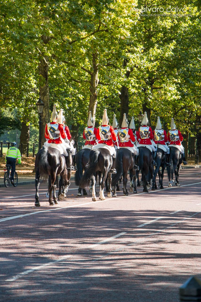 Soldados del cambio de guardia - London