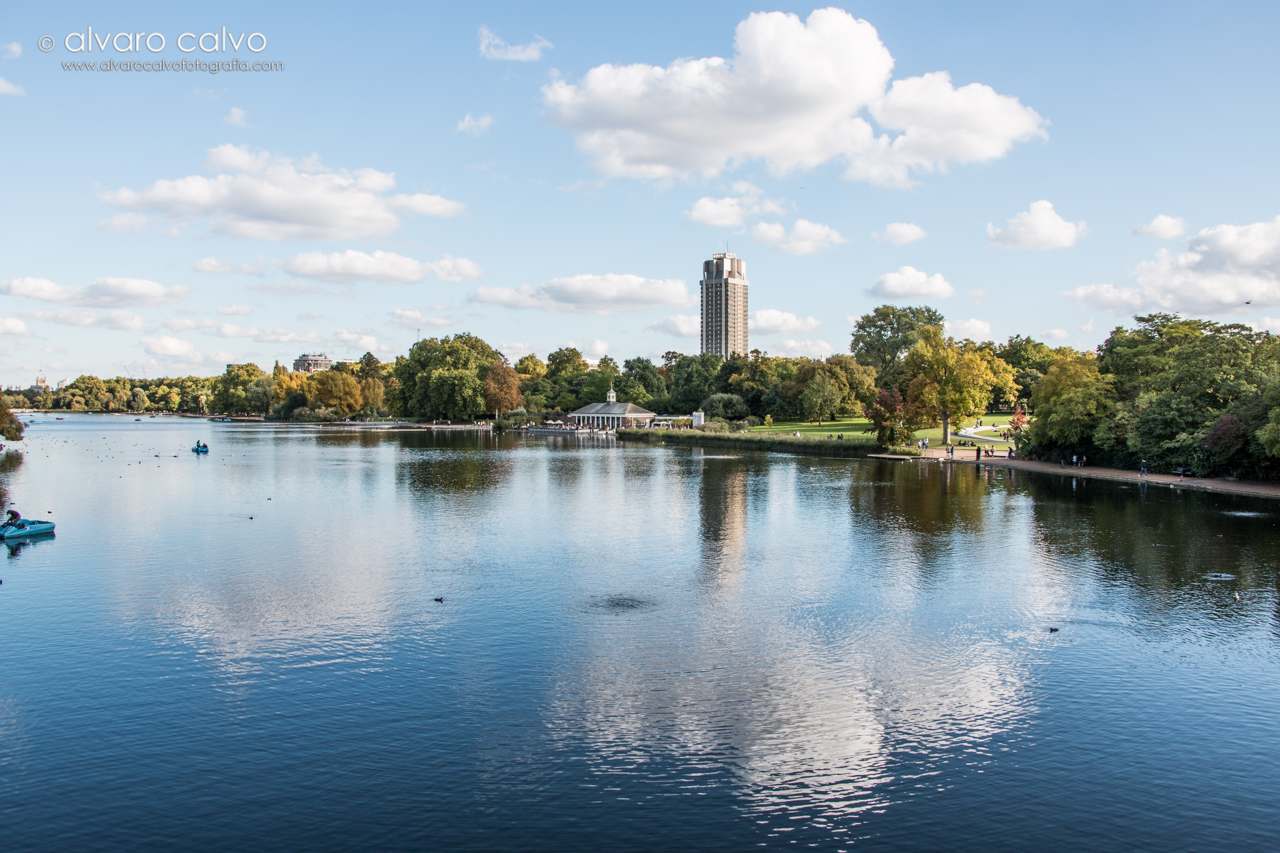 Lago Serpentine en Hyde Park - Londres / London