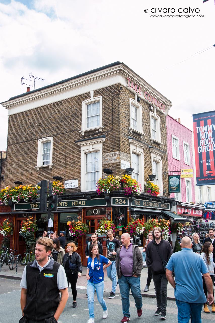 Barrio de Candem Town - Londres / London