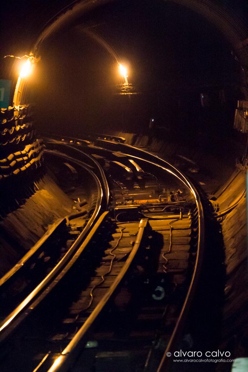 Tunel del metro de Londres - London Underground