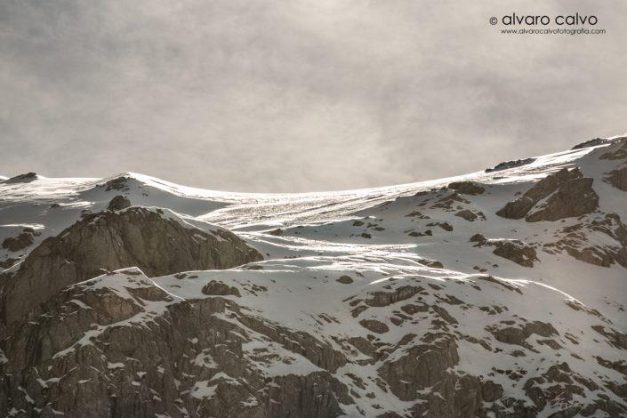 Montaña palentina nevada